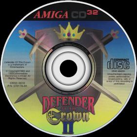 Defender of the Crown II - Disc