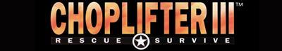 Choplifter III: Rescue-Survive - Banner
