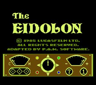 The Eidolon - Screenshot - Game Title