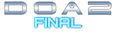 Dead or Alive 2: Final - Clear Logo