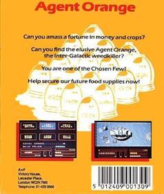 Agent Orange - Box - Back
