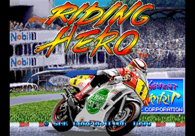 Riding Hero - Screenshot - Game Title