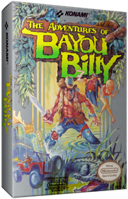 The Adventures of Bayou Billy - Box - 3D