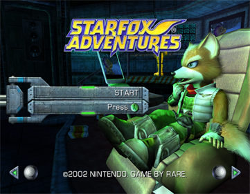 Star Fox Adventures - Screenshot - Game Title