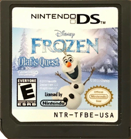Disney Frozen: Olaf's Quest - Cart - Front