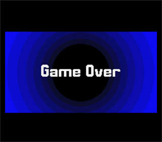 Flashback: The Quest for Identity - Screenshot - Game Over
