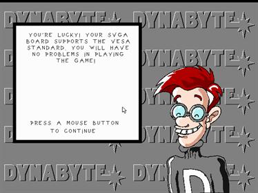The Big Red Adventure - Screenshot - Gameplay