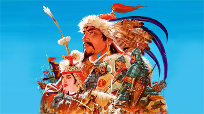 Genghis Khan II: Clan of the Gray Wolf - Fanart - Background