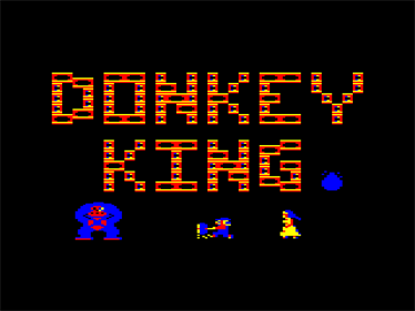 Donkey King - Screenshot - Game Title