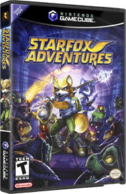 Star Fox Adventures - Box - 3D