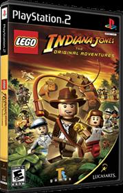 LEGO Indiana Jones: The Original Adventures - Box - 3D