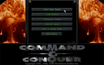 Command & Conquer (Special Gold Edition) - Screenshot - Game Title
