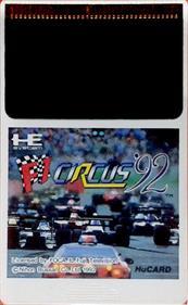 F1 Circus '92 - Cart - Front