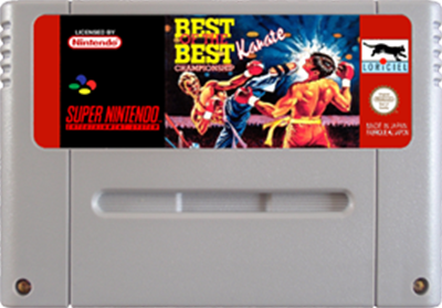 Best of the Best: Championship Karate - Cart - Front