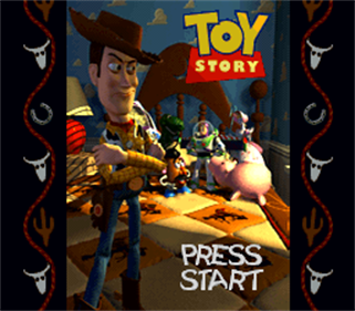 Toy Story - Screenshot - Game Title
