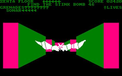 3-D Monster Chase - Screenshot - Gameplay
