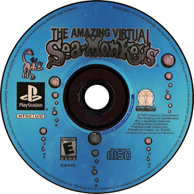 The Amazing Virtual Sea-Monkeys - Disc
