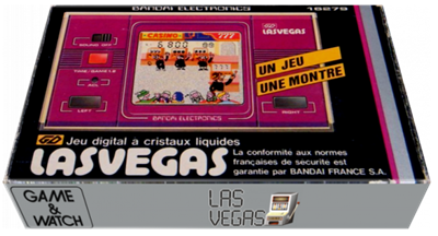 Las Vegas - Box - 3D