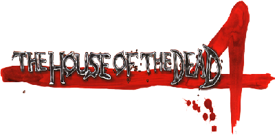 The House of the Dead 4 - Clear Logo