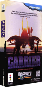 Carrier: Fortress at Sea - Box - 3D