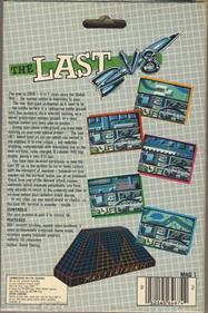 The Last V8 - Box - Back