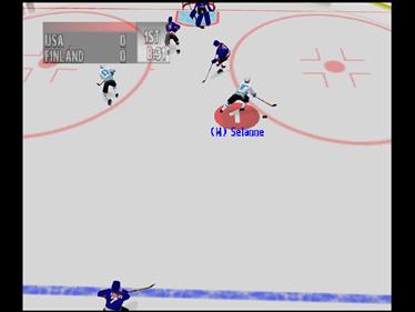 NHL Breakaway 99 - Screenshot - Gameplay