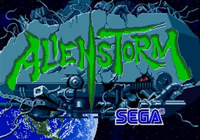 Alien Storm - Screenshot - Game Title