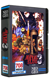 Metal Slug 3 - Box - 3D
