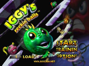 Iggy's Reckin' Balls - Screenshot - Game Title