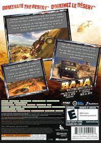 Baja: Edge of Control - Box - Back