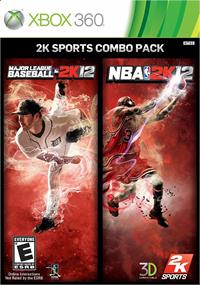 2K Sports Combo Pack: MLB 2K12/NBA 2K12