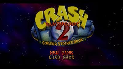Crash Bandicoot 2: Cortex Strikes Back - Screenshot - Game Title