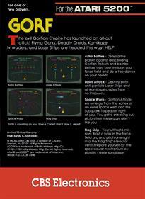 Gorf - Box - Back