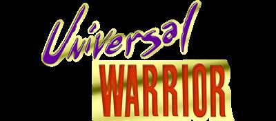 Universal Warrior - Clear Logo