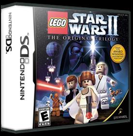 LEGO Star Wars II: The Original Trilogy - Box - 3D
