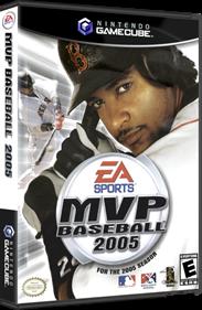 MVP Baseball 2005 - Box - 3D