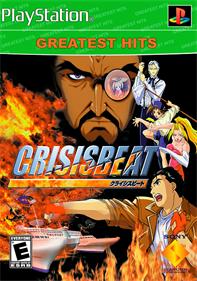 Crisis Beat - Fanart - Box - Front