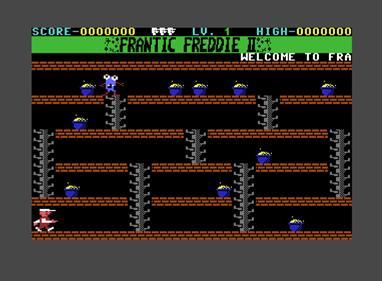 Frantic Freddie II - Screenshot - Gameplay