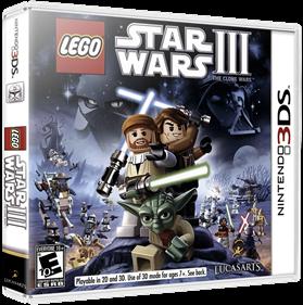 LEGO Star Wars III: The Clone Wars - Box - 3D
