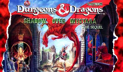 Dungeons & Dragons: Shadow Over Mystara - Arcade - Marquee