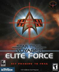 Star Trek: Voyager: Elite Force - Box - Front