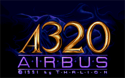 A320 Airbus: Edition Europa - Screenshot - Game Title