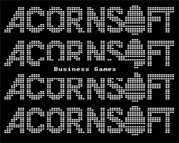Business Games - Screenshot - Game Title