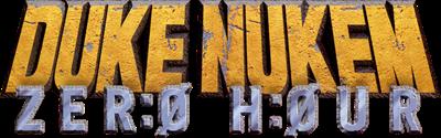 Duke Nukem: Zero Hour - Clear Logo