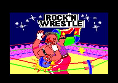 Rock 'n Wrestle - Screenshot - Game Title