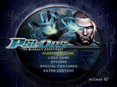 Psi-Ops: The Mindgate Conspiracy - Screenshot - Game Select