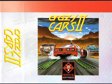 Crazy Cars II - Box - Front - Reconstructed