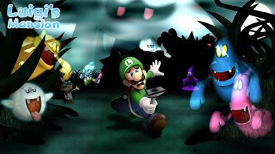 Luigi's Mansion - Fanart - Background