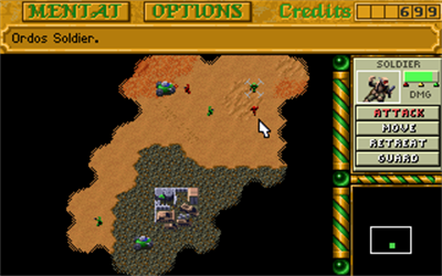 Dune II: The Building of a Dynasty - Screenshot - Gameplay