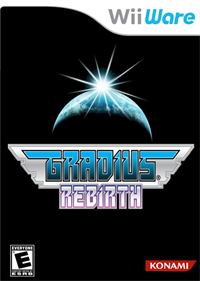Gradius ReBirth - Fanart - Box - Front